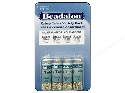 Beadalon Crimp Tube Variety Pack
