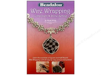 Wire Wrapping Jewelry Craft Supply Component and Stone Setting