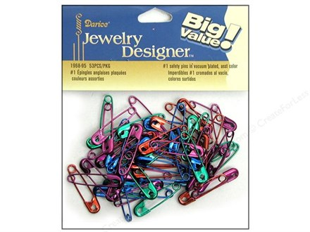 Safety Pins – Find the Right Type and Size -- CreateForLess : safety pins for quilting - Adamdwight.com