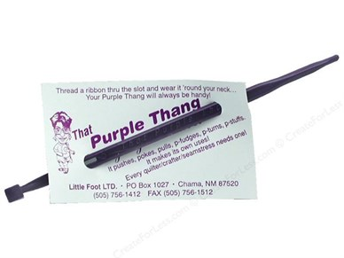 Qulting Supplies - Purple Thang Quilting Notion