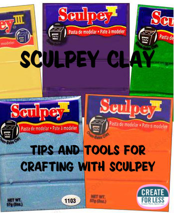 Tips for crafting with sculpey clay | CreateForLess.com Discount Craft Supplies