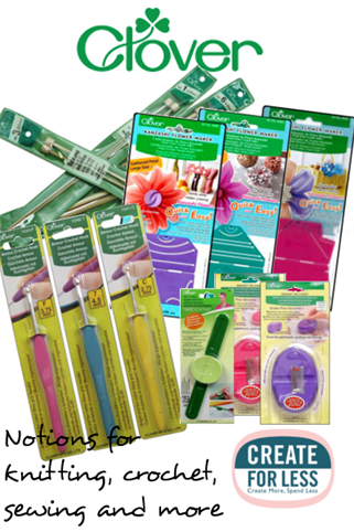 Clover Notions, Knitting Needles, Crochet Hooks and More | CreateForLess.com Discount Craft Supplies