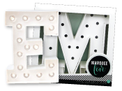 Heidi Swapp Marquee Love Letter Kits