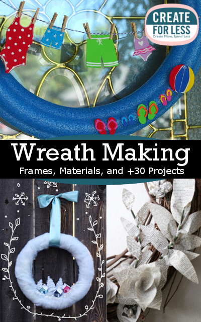 wreath making frames materials and 30 projects createforless