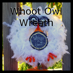 Whoot Owl Wreath