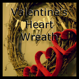 Valentine 's Heart Wreath
