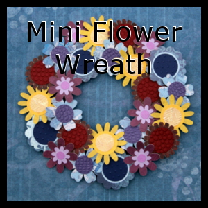 Mini Flower Wreath