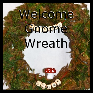 Welcome Gnome Wreath