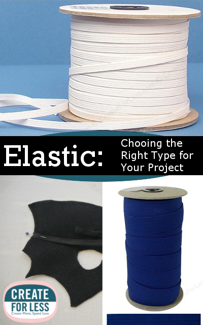 Types of Elastic, Materials, and How to Choose the Right Kind | CreateForLess.com Discount Craft Supplies