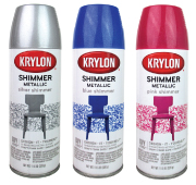 Krylon Shimmer Metallic Spray Paint