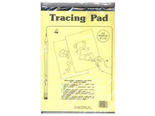 yarn & needlework: Aunt Martha's Tracing Paper Pad 9 x 12 in. 50 Sheets