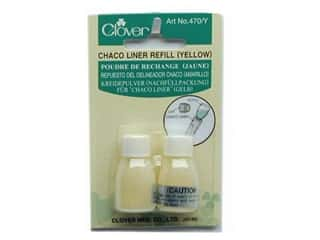 Clover Chaco Liner Refill 2 pc. Yellow