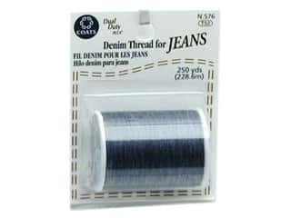 Metrosene Plus Polyester thread : Coats Denim For Jeans 250 yd. Blue