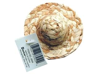 craft & hobbies: Darice Straw Hat 3 in.