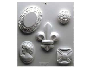 craft & hobbies: Yaley Soapsations Plastic Soap Molds 8 x 9 in. Cameos