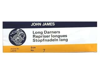 John James Needle Darner Long Size 7 25 pc (2 packages)