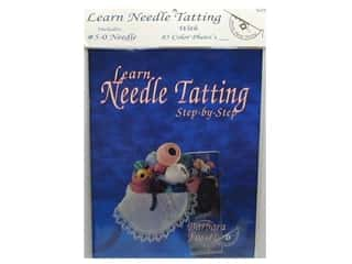 yarn & needlework: Handy Hands Needle Tatting Book & Needle Starter Set