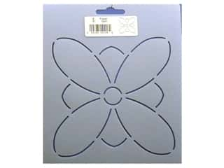 quilting stencils: Quilting Creations Stencil Flower 5 in.