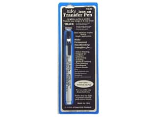 permanent black marker: Sulky Iron-on Transfer Pen Black