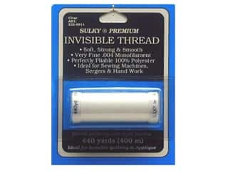 Sulky Invisible Thread .004 440 yd. Clear