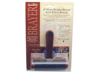 scrapbooking & paper crafts: Speedball Brayer Hard Rubber 4""