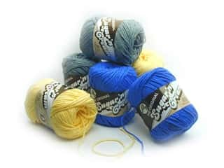 Sale: Sugar'n Cream Yarn 2 oz, SALE $2.09-$2.19.