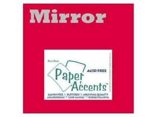 paper accents Cardstock: Cardstock 12 x 12 in. Mirror Red by Paper Accents (25 sheets)