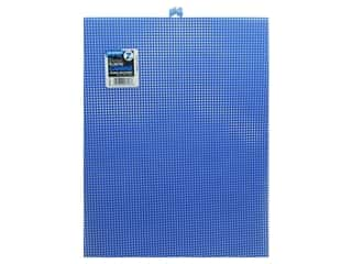 Darice Plastic Canvas #7 circle: Darice Plastic Canvas #7 Mesh 10 1/2 x 13 1/2 in. Dark Blue Rectangle (12 sheets)
