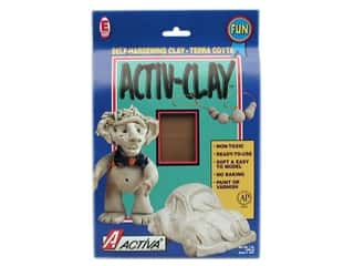 craft & hobbies: Activa Activ-Clay 1 lb. Terra Cotta