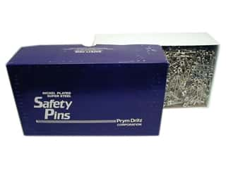 Dirtz Bulk Safety Pins 2 in. Nickel 1440 pc.