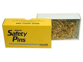Safety pins: Bulk Safety Pins by Dritz 7/8 in. Brass 1440pc.