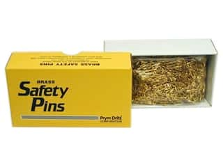 Dritz Bulk Safety Pins 3/4 in. Brass 1440 pc.