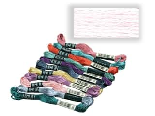 yarn & needlework: DMC Rayon Embroidery Floss Baby Pink (12 yards)