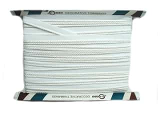 Conso Princess Cord with Lip 3/16 in. x 24 yd. White (24 yards)