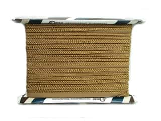 Conso Princess Cord with Lip 3/16 in. x 24 yd. Old Gold (24 yards)