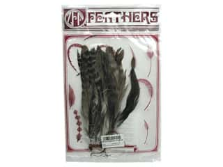"Feathers: Zucker Feather Natural Coque Strung 6-8"" Chinchilla"