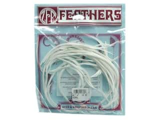 Feathers: Zucker Feather Goose Biots .15 oz. White