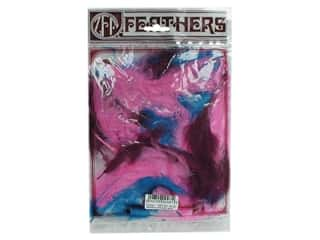 Clearance: Zucker Feather Turkey Marabou Feathers 1/4 oz. Large Mask Mix