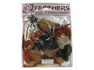 Feathers: Zucker Feather Turkey Plumage Feathers 1/2 oz. Earth Mix