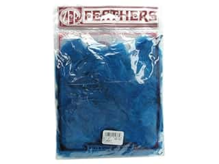 Feathers: Zucker Feather Turkey Plumage Feathers 1/2 oz. Dark Turquoise