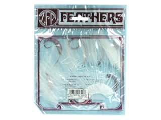 Feathers: Zucker Feather Hackle Half Plate 1 pc. White