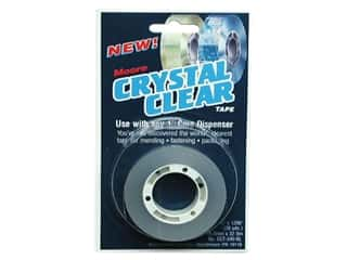 craft & hobbies: Moore Crystal Clear Tape Refill 3/4 x 1296 in.