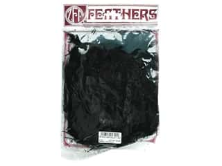 Feathers: Zucker Feather Turkey Marabou Feathers 1/4 oz. Large Black