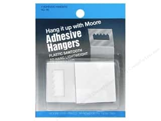 Moore Hardware Picture Hangers Saw Tooth Adhesive 4pc.