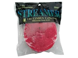 Crepe Paper Streamers by Cindus 1 3/4 in. x 81 ft. Bombay Pink