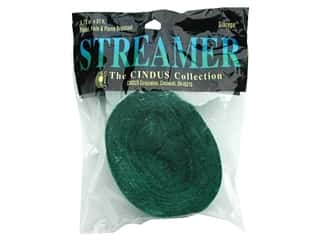 Gifts & Giftwrap: Crepe Paper Streamers by Cindus 1 3/4 in. x 81 ft. Emerald Green