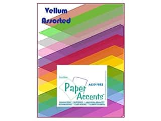 Cardstock Variety Pack 8 1/2 x 11 in. Assorted Vellum 25 pc. by Paper Accents