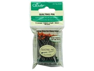sewing & quilting: Clover Quilting Pins Glass Head 100 pc.