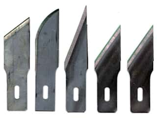 Craft & Hobbies: Excel Hobby Knife Blade Assorted Heavy Duty 5 pc