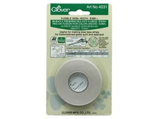 glues, adhesives & tapes: Clover Fusible Web 1/4 in. (5 mm)